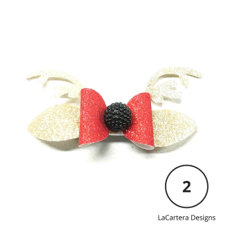 Holiday Hair Bows 2