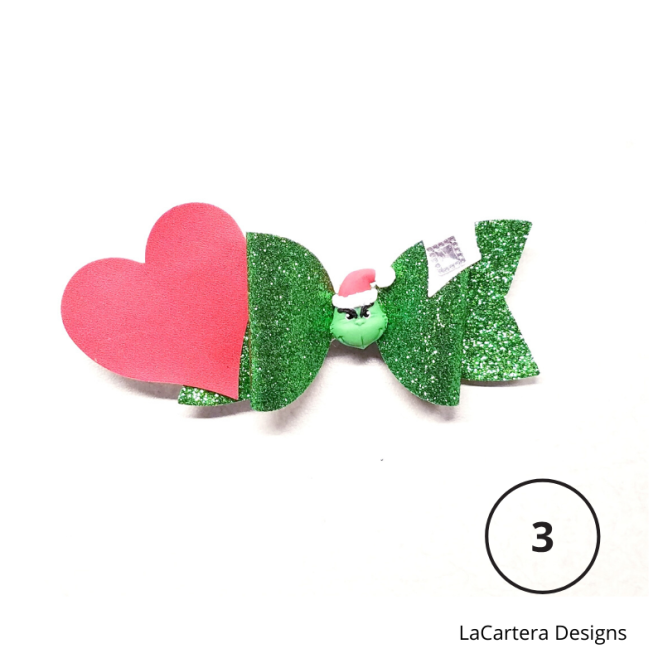 Holiday Hair Bows 3