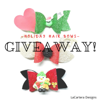 Hair Bows -Holiday Giveaway!