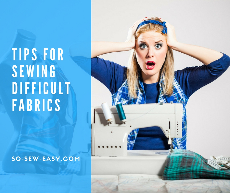 So Sew Easy Sewing Tip